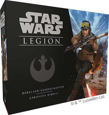 Einfach und sicher online bestellen: Star Wars: Legion - Rebellen Kundschafter in Österreich kaufen.