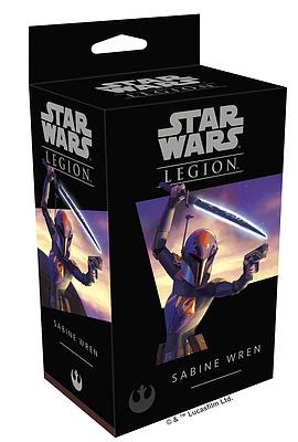 Einfach und sicher online bestellen: Star Wars: Legion - Sabine Wren in Österreich kaufen.