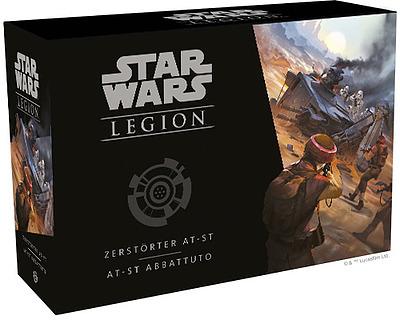 Einfach und sicher online bestellen: Star Wars: Legion - Zerstörter AT-ST in Österreich kaufen.