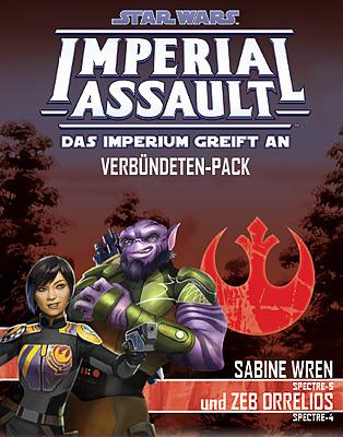 Einfach und sicher online bestellen: Star Wars Imperial Assault: Sabine und Zeb in Österreich kaufen.