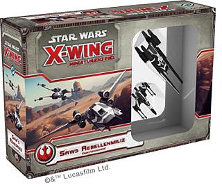 Einfach und sicher online bestellen: Star Wars X-Wing - Saws Rebellenmiliz in Österreich kaufen.