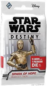 Einfach und sicher online bestellen: Star Wars Destiny Funken der Hoffnung Booster in Österreich kaufen.
