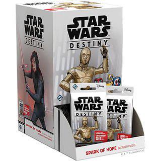 Einfach und sicher online bestellen: Star Wars Destiny Funken der Hoffnung Display in Österreich kaufen.