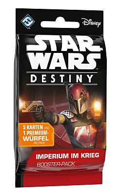 Einfach und sicher online bestellen: Star Wars Destiny Imperium im Krieg Booster in Österreich kaufen.