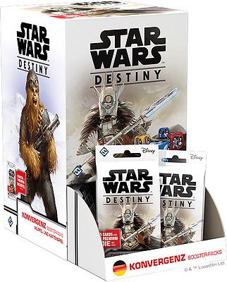 Einfach und sicher online bestellen: Star Wars Destiny Konvergenz Display in Österreich kaufen.