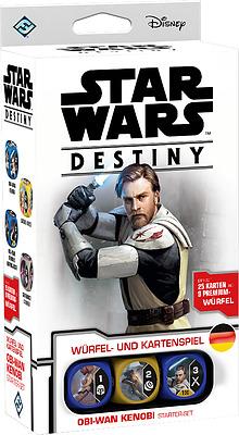 Einfach und sicher online bestellen: Star Wars Destiny Obi-Wan Kenobi Starter Set in Österreich kaufen.