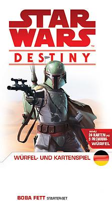 Einfach und sicher online bestellen: Star Wars Destiny Starter-Set Boba Fett in Österreich kaufen.