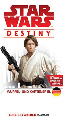 Einfach und sicher online bestellen: Star Wars Destiny Starter-Set Luke Skywalker in Österreich kaufen.