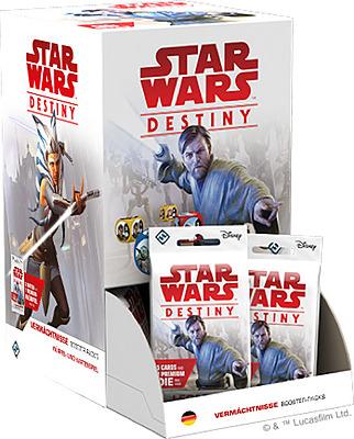 Einfach und sicher online bestellen: Star Wars Destiny Vermächtnisse Display in Österreich kaufen.