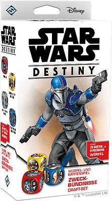Einfach und sicher online bestellen: Star Wars Destiny Zweckbündnisse Draft-Set in Österreich kaufen.