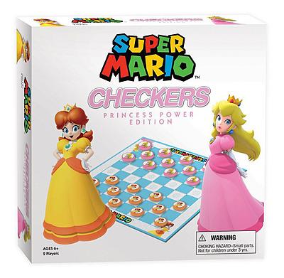 Einfach und sicher online bestellen: Super Mario Brettspiel Dame Princess Power in Österreich kaufen.