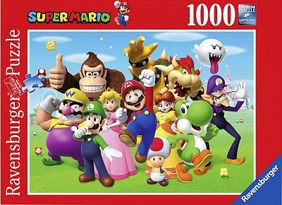 Einfach und sicher online bestellen: Super Mario Puzzle 1000pc in Österreich kaufen.