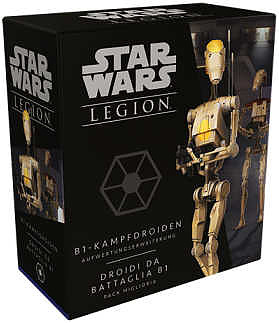 Einfach und sicher online bestellen: Star Wars: Legion - B1-Kampfdroiden Aufwertung in Österreich kaufen.
