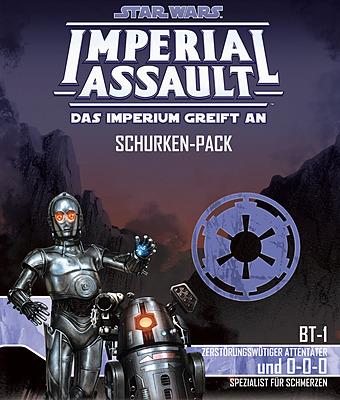 Einfach und sicher online bestellen: Star Wars Imperial Assault: BT-1 & 0-0-0 in Österreich kaufen.