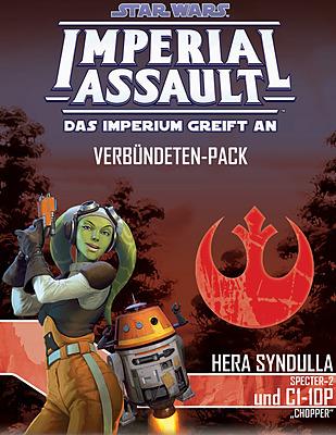 Einfach und sicher online bestellen: Star Wars Imperial Assault: Hera und C1-10P in Österreich kaufen.