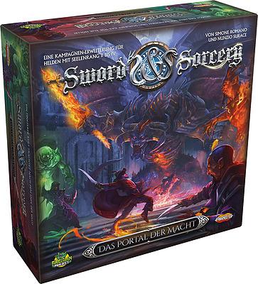 Einfach und sicher online bestellen: Sword & Sorcery - Das Portal der Macht in Österreich kaufen.