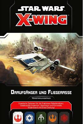 Einfach und sicher online bestellen: X-Wing 2 Edition: Draufgänger und Fliegerasse in Österreich kaufen.
