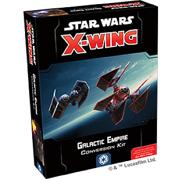 Einfach und sicher online bestellen: Star Wars X-Wing 2 Ed. Conversion Kit Galactic in Österreich kaufen.