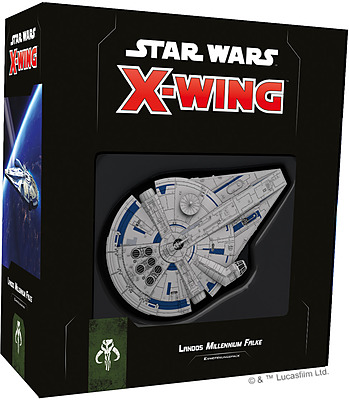 Einfach und sicher online bestellen: Star Wars X-Wing 2 Ed. Landos Millenium Falke in Österreich kaufen.