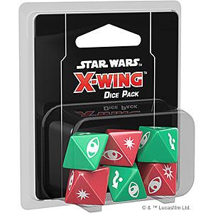 Einfach und sicher online bestellen: Star Wars X-Wing 2 Ed. Würfel Set in Österreich kaufen.