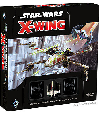 Einfach und sicher online bestellen: Star Wars X-Wing 2 Edition Grundspiel in Österreich kaufen.