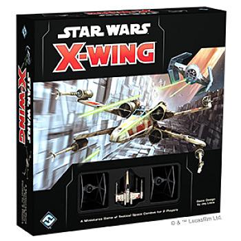 Einfach und sicher online bestellen: Star Wars X-Wing Core Set 2nd Edition in Österreich kaufen.