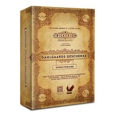 Einfach und sicher online bestellen: Trickerion - Dahlgaards Geschenke in Österreich kaufen.
