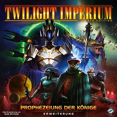 Einfach und sicher online bestellen: Twilight Imperium 4. Ed. - Prophezeiung der Könige in Österreich kaufen.
