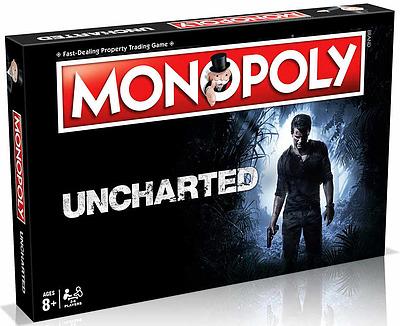 Einfach und sicher online bestellen: Uncharted Brettspiel Monopoly (Englisch) in Österreich kaufen.