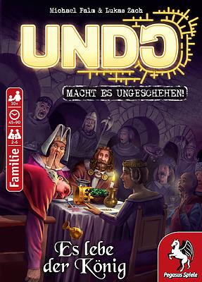 Einfach und sicher online bestellen: Undo - Es lebe der König in Österreich kaufen.
