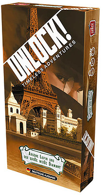 Einfach und sicher online bestellen: Unlock! - Arsene Lupin und der große weiße Diamant in Österreich kaufen.