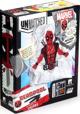 Einfach und sicher online bestellen: Unmatched Marvel Deadpool (Englisch) in Österreich kaufen.