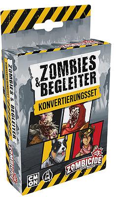Einfach und sicher online bestellen: Zombicide 2. Edition - Zombies & Begleiter in Österreich kaufen.