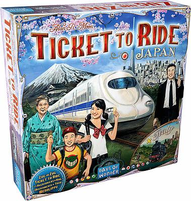 Einfach und sicher online bestellen: Zug um Zug - Japan + Italien in Österreich kaufen.