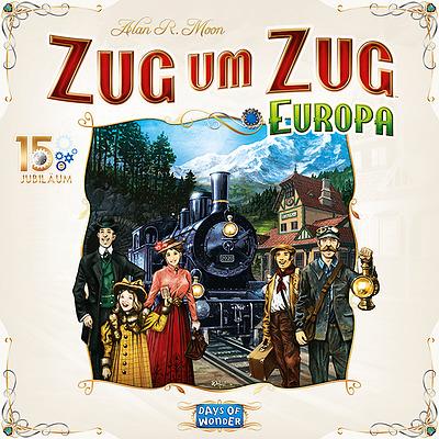 Einfach und sicher online bestellen: Zug um Zug Europa 15 Jahre Edition in Österreich kaufen.