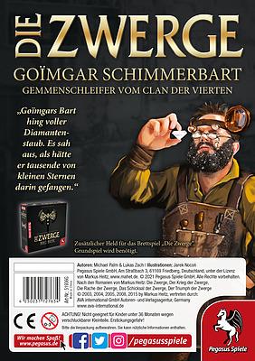 Einfach und sicher online bestellen: Die Zwerge Charakterpack: Goimgar in Österreich kaufen.