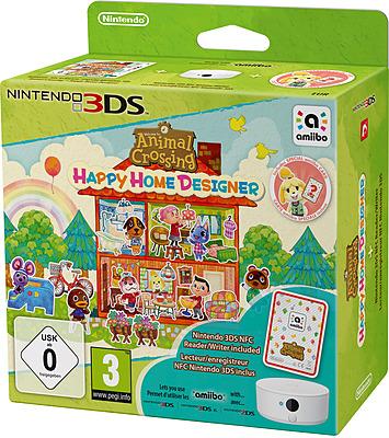 Einfach und sicher online bestellen: Animal Crossing: Happy Home Designer + NFC Reader in Österreich kaufen.