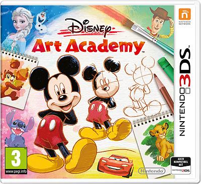 Einfach und sicher online bestellen: Disney Art Academy (AT-PEGI) in Österreich kaufen.