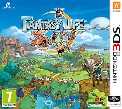 Einfach und sicher online bestellen: Fantasy Life (AT-PEGI) in Österreich kaufen.