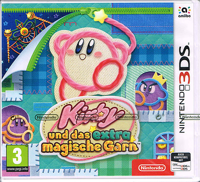 Einfach und sicher online bestellen: Kirby und das extra magische Garn (AT-PEGI) in Österreich kaufen.