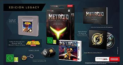 Einfach und sicher online bestellen: Metroid: Samus Returns Legacy Edition in Österreich kaufen.