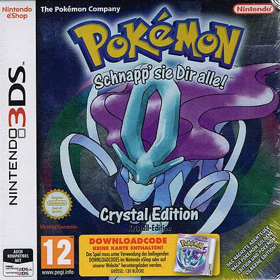 Einfach und sicher online bestellen: Pokemon Kristall (AT-PEGI) in Österreich kaufen.