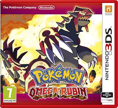 Einfach und sicher online bestellen: Pokemon Omega Rubin (AT-PEGI) in Österreich kaufen.