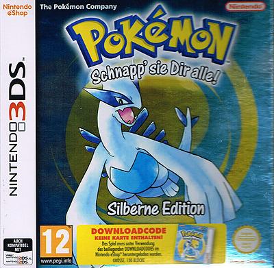 Einfach und sicher online bestellen: Pokemon Silber (AT-PEGI) in Österreich kaufen.