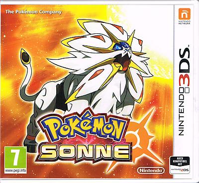 Einfach und sicher online bestellen: Pokemon Sonne (AT-PEGI) in Österreich kaufen.