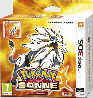 Einfach und sicher online bestellen: Pokemon Sonne + Steelbook (AT-PEGI) in Österreich kaufen.