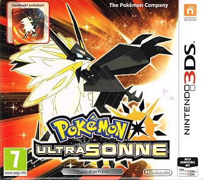Einfach und sicher online bestellen: Pokemon Ultrasonne Fan-Edition (AT-PEGI) in Österreich kaufen.