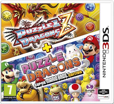 Einfach und sicher online bestellen: Puzzle & Dragons Z + Puzzle & Dragons SMB Edition in Österreich kaufen.