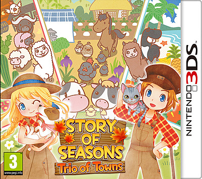 Einfach und sicher online bestellen: Story of Seasons: Trio of Towns (AT-PEGI) in Österreich kaufen.