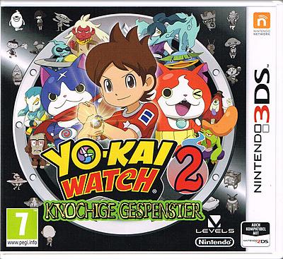 Einfach und sicher online bestellen: Yo-Kai Watch 2: Knochige Gespenster (AT-PEGI) in Österreich kaufen.